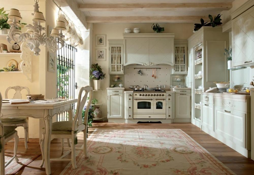 Дизайн кухни в частном доме стиль прованс