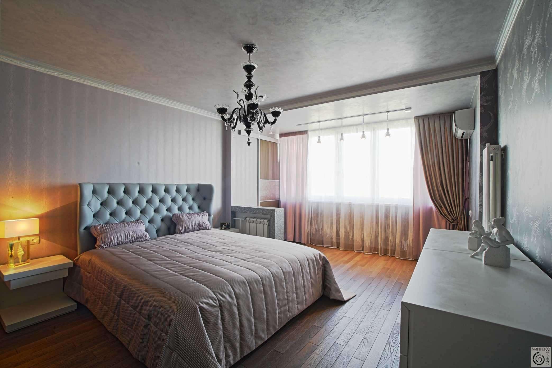 спальня с балконом фото