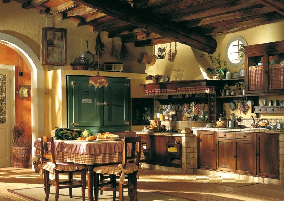 итальянская кухня декор фото
