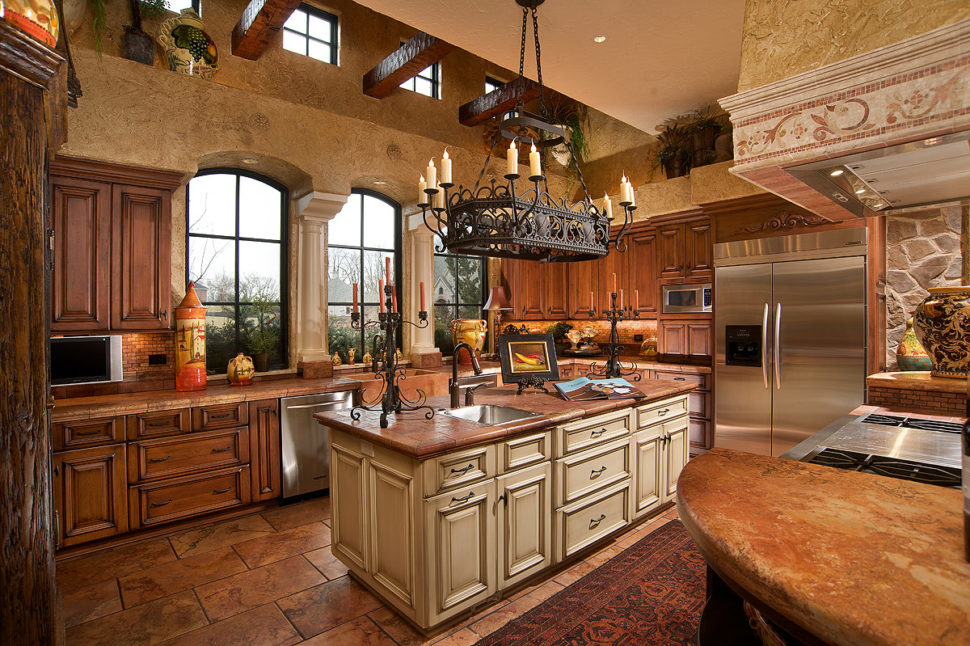 итальянская кухня фото интерьер