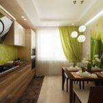 элитный дизайн кухни современный стиль