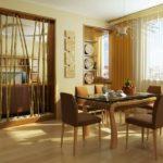 дизайн гостиной кухни 18 м2 оформление