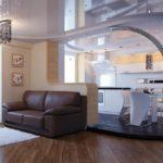 кухня гостиная 18 м2 как подобрать стиль