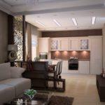 кухня гостиная 18 м2 атмосфера отдыха