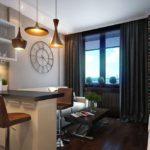кухня гостиная 18 м2 дизайн идеи