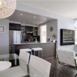 кухня гостиная 18 м2 фото интерьера