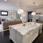 кухня гостиная 18 м2 идеи интерьер