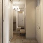 узкий коридор фото идеи