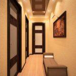 узкий коридор фото интерьер