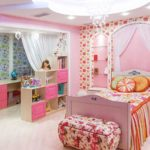 Оформление детской комнаты девочки-школьницы в игрушечном стиле