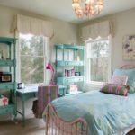 Оформление детской комнаты девочки-школьницы в стиле шебби-шик