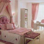 Оформление детской комнаты девочки в стиле ампир кровать с балдахином