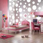 Оформление детской комнаты для девочки в стиле хай-тек