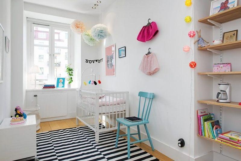 Оформление детской комнаты для маленького ребенка сдержанные тона