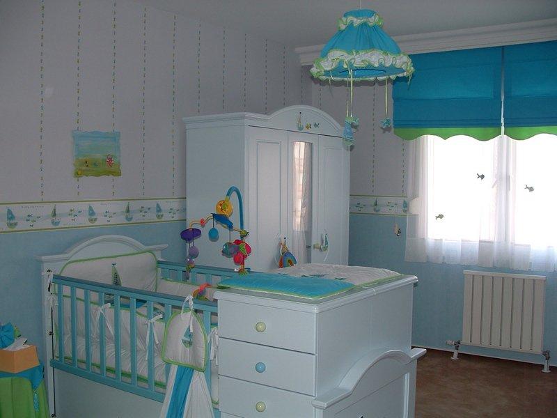 Оформление детской комнаты для маленького ребенка стеновые панели