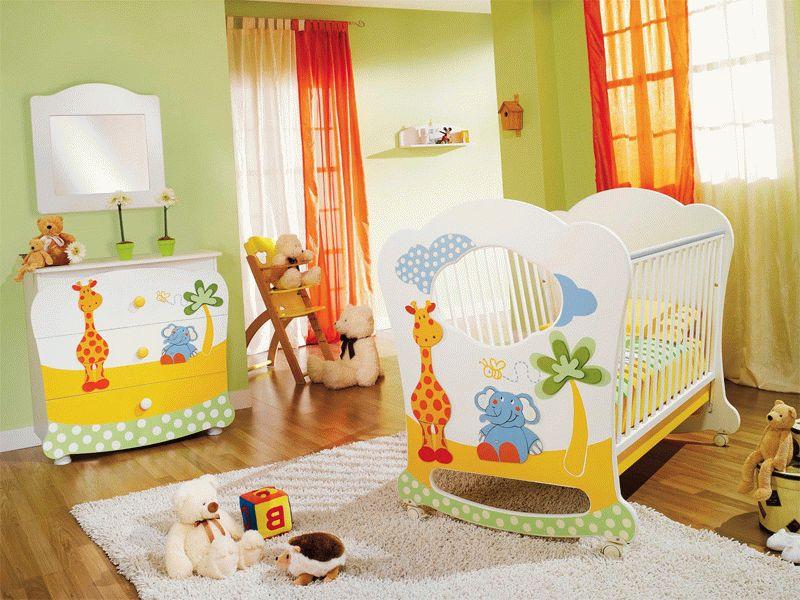 Оформление детской комнаты для новорожденного простор