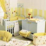 Оформление детской комнаты для новорожденного со стеновыми панелями