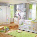 Оформление детской комнаты для новорожденного в современном стиле