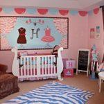 Оформление детской комнаты для новорожденной девочки в винтажном стиле