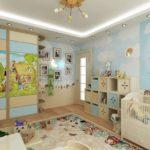 Оформление детской комнаты для ребенка ясельного возраста