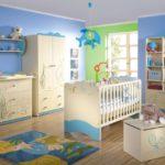 Оформление детской комнаты новорожденного морской стиль