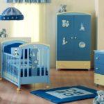 Оформление детской комнаты для новорожденного с мебелью