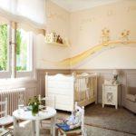 Оформление детской комнаты новорожденного скандинавский стиль