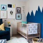 Оформление детской комнаты новорожденного стиль минимализм