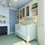 Оформление детской комнаты новорожденного викторианский стиль