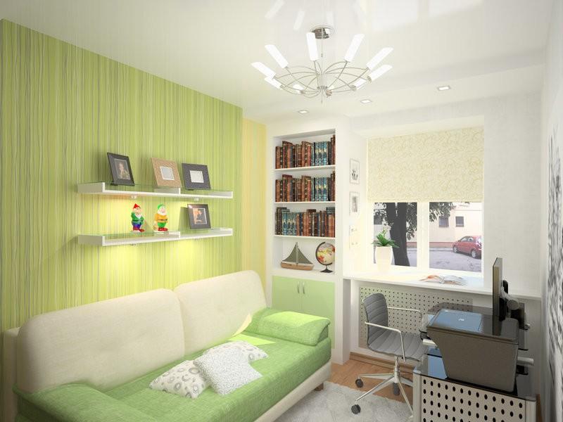 Оформление детской комнаты школьника обои