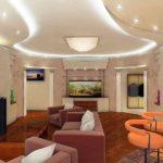 Оформление гостиной комнаты в современном стиле