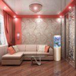 Оформление гостиной в стиле арт-деко