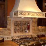 плитка для кухни фото интерьер