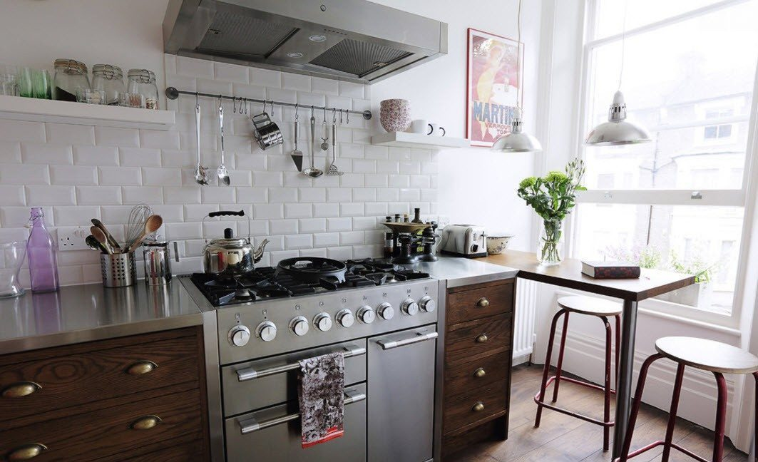 плитка на кухне дизайн фото