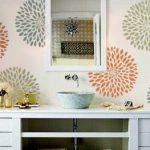 Поделки для кухни своими руками цветочные трафареты на стене