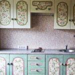 Поделки для кухни своими руками декупаж на шкафу