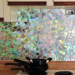 Поделки для кухни своими руками фартук из осколков cd-дисков