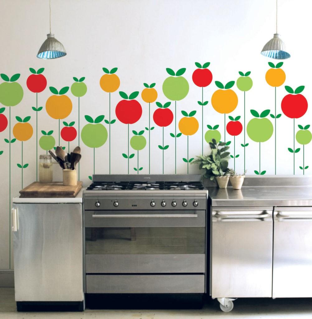 Поделки для кухни своими руками наклейки на стену