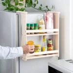 Поделки для кухни своими руками навесная полка на холодильнике