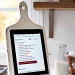 Поделки для кухни своими руками подставка для планшета