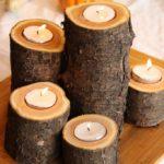 Поделки для кухни своими руками подсвечники из дерева