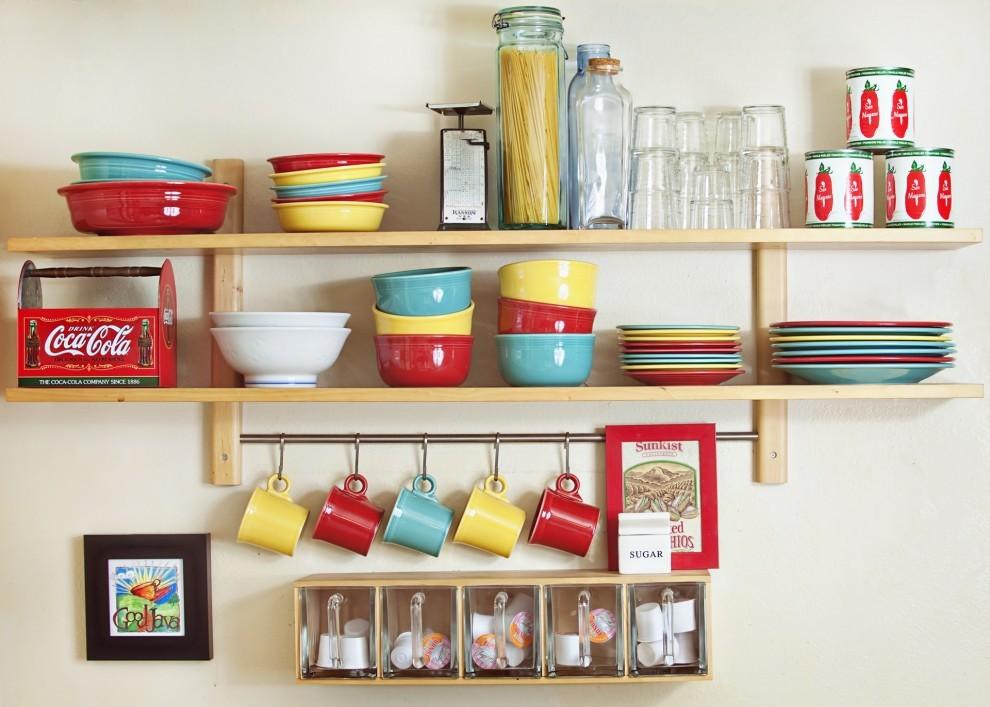 Поделки для кухни своими руками полка для посуды