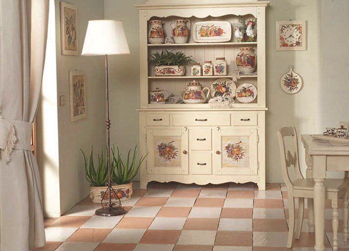 Поделки для кухни своими руками Прованс декупаж мебели