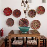 Поделки для кухни своими руками расписные тарелки на стене