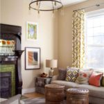 шторы в гостиной идеи декора