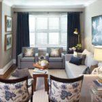 шторы в гостиной идеи фото