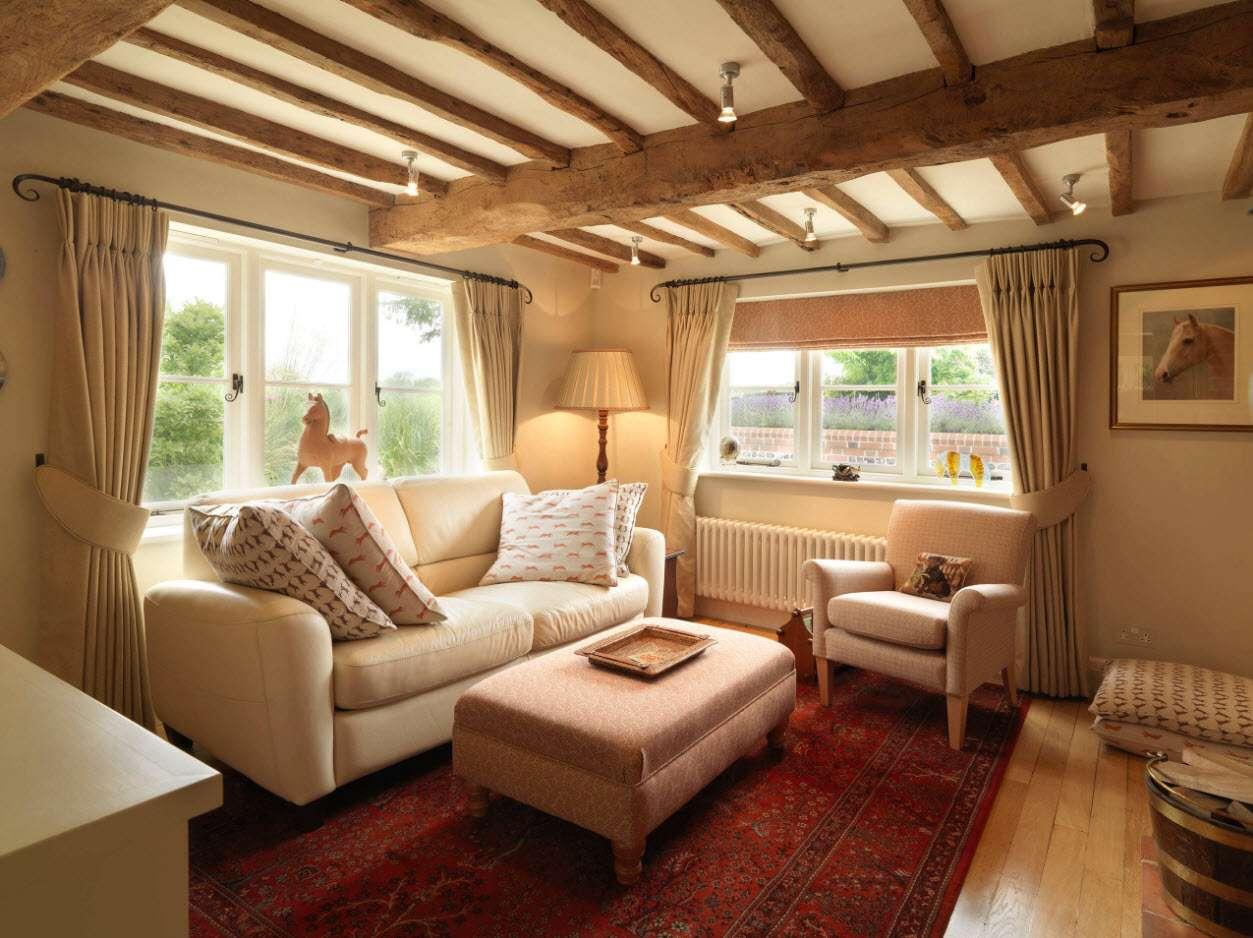 шторы в гостиной декор