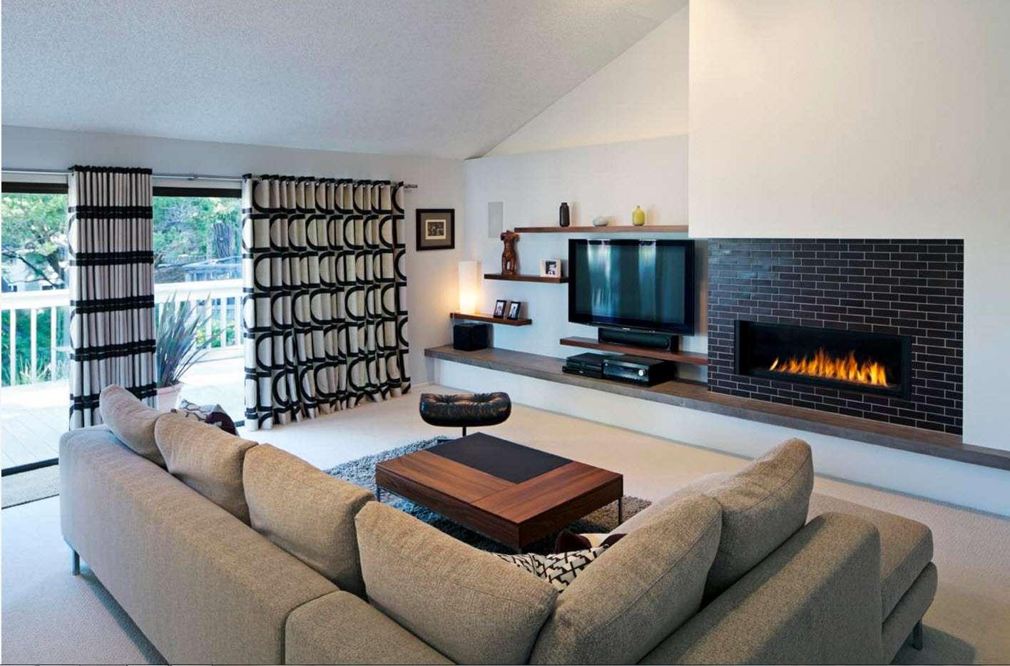 шторы в гостиной фото идеи