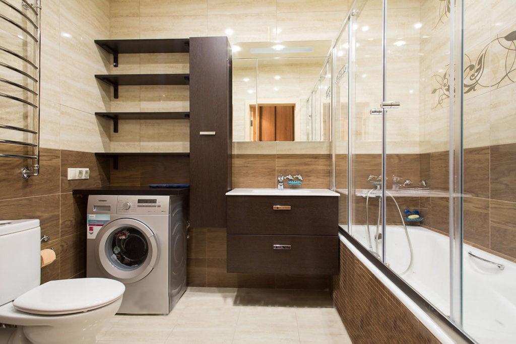 современный дизайн ванной комнаты подвесная мебель