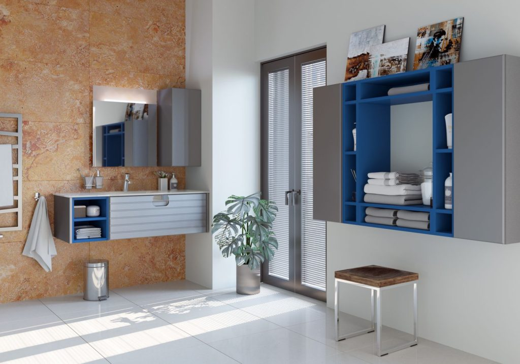 современный дизайн ванной комнаты в стиле минимализма